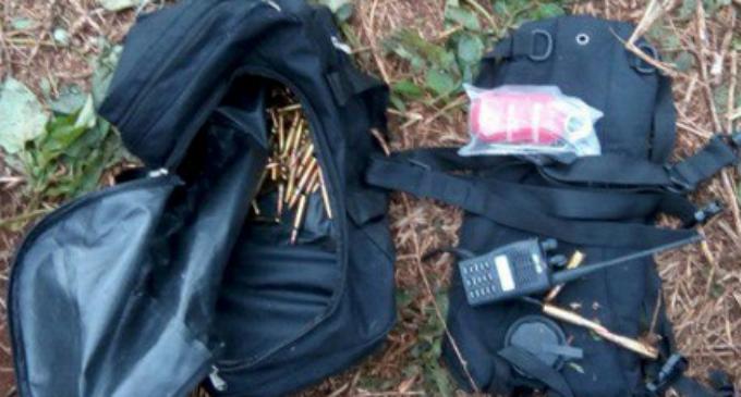 Lanchas y armas fueron abandonadas en Brasil