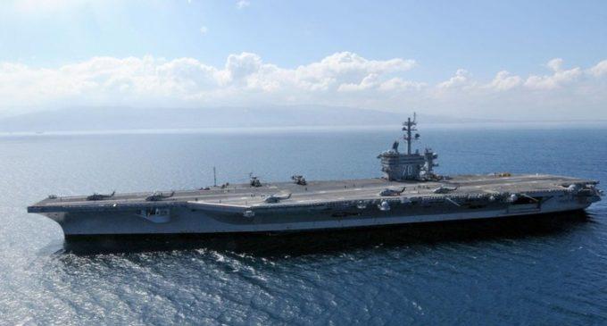Corea de Norte amenaza con hundir el portaaviones estadounidense