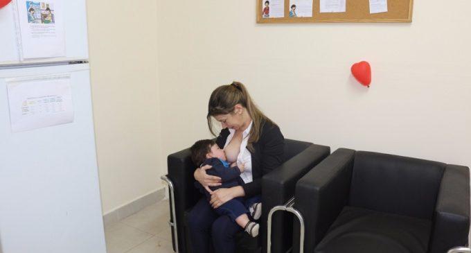 Más niños sanos y fuertes a través de sala de lactancia en INTN