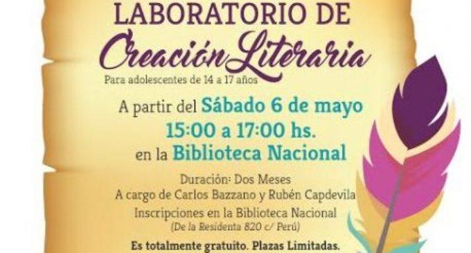 Laboratorio de Creación Literaria para adolescentes