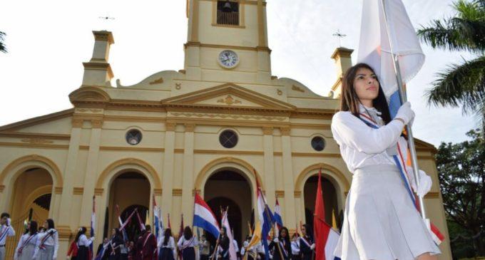 Villarrica celebró su 447º aniversario