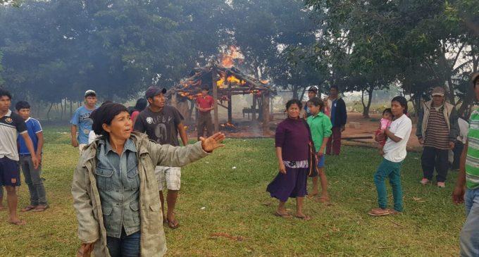 Violento desalojo a comunidad indígena en Itakyry