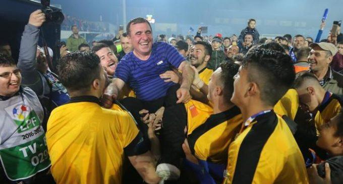 """La hazaña de Gheorghe Hagi, """"el Maradona de los Cárpatos"""": creó un club, imitó a La Masía y fue campeón en Rumania"""