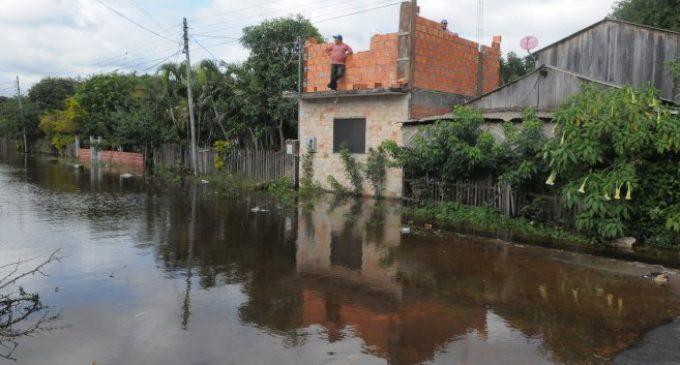 Nanawa también sufre por las inundaciones