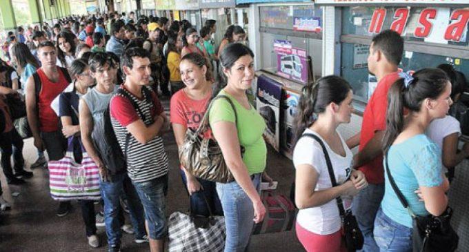 Casi 300.000 personas han pasado por la Terminal durante feriado largo