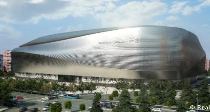 Ayuntamiento de Madrid aprueba plan de remodelación del Santiago Bernabéu