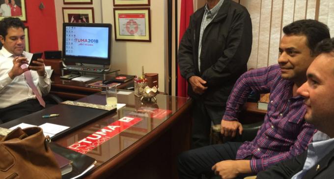 Tuma admite campaña con 'Chicharõ' Sánchez