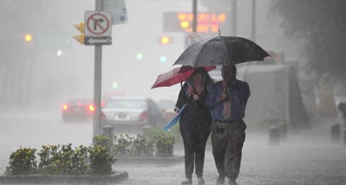 Persistirán las lluvias entre el martes y miércoles