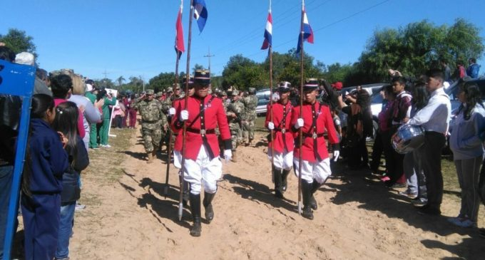 Suspenden caminata patriótica a Tuyutí por lluvias