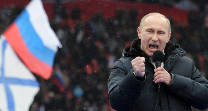 Vladimir Putin también saludó al Paraguay