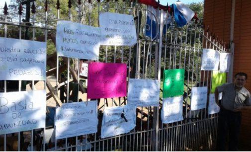 Toma de colegio: Alumnos del Saturio Ríos denuncian acoso y maltratos