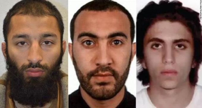Estos son los hombres que atacaron Londres