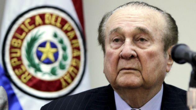 Conmebol presentó denuncia contra Nicolás Leoz