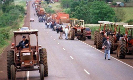 """Inicia el """"Tractorazo"""" en Naranjito"""