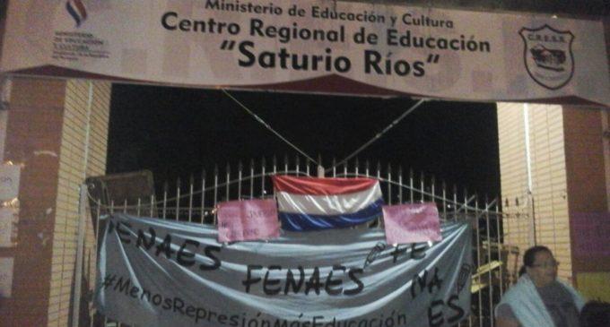 """""""Vamos a darle una solución a esta situación"""", afirman desde el MEC sobre toma del colegio Saturio Ríos"""