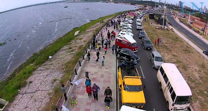 Un carril de la Costanera será habilitado para paso vehicular los fines de semana