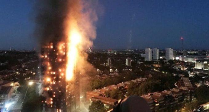 Identifican el origen del incendio mortal en Londres