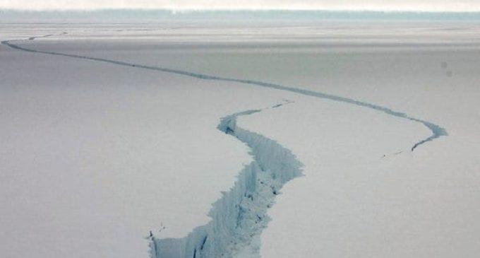 Temor por un gigantesco desprendimiento de masa de hielo en la Antártida