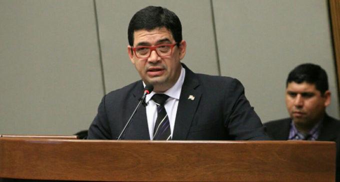 Velázquez se despidió de la presidencia de Diputados