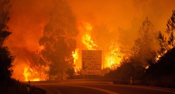 Un incendio en Portugal causa al menos 19 muertos y 20 heridos