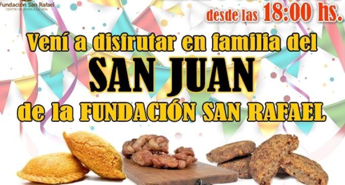 San Juan solidario en la Fundación San Rafael