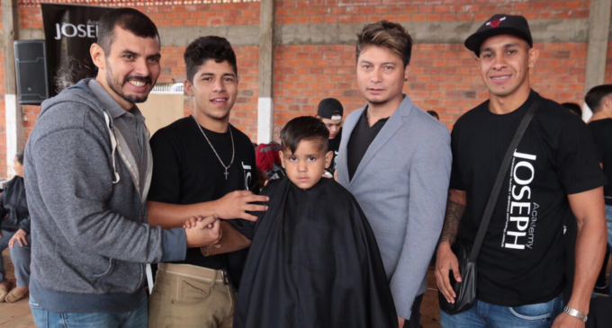 Ofrecieron servicios sociales en la Parroquia Santa Elena