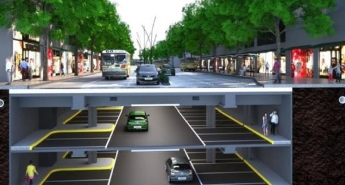 Quieren estacionamientos subterráneos en Asunción