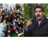 Selección sub 20 de Venezuela se negó a festejar su hazaña en Mundial de Corea del Sur con Nicolás Maduro