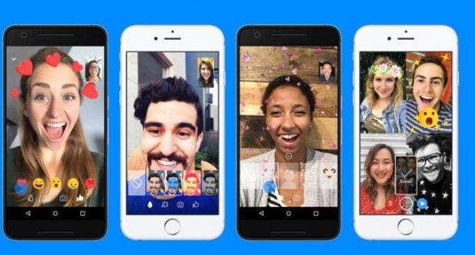 Más filtros para las videollamadas en messenger