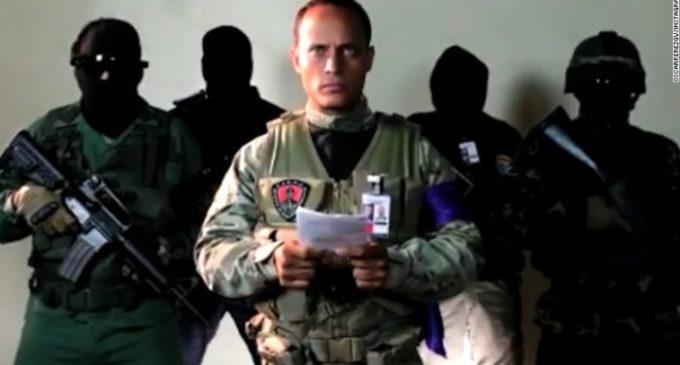 """Maduro denuncia """"Ataque terrorista armado"""""""