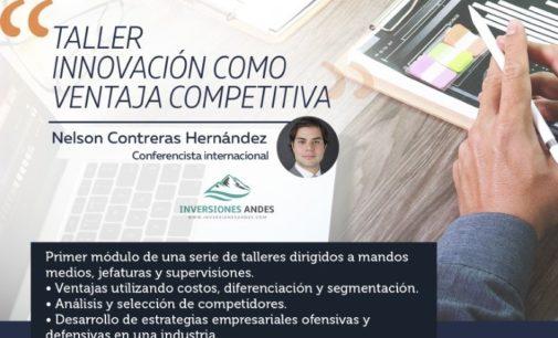 """""""Taller Innovación como ventaja competitiva"""""""