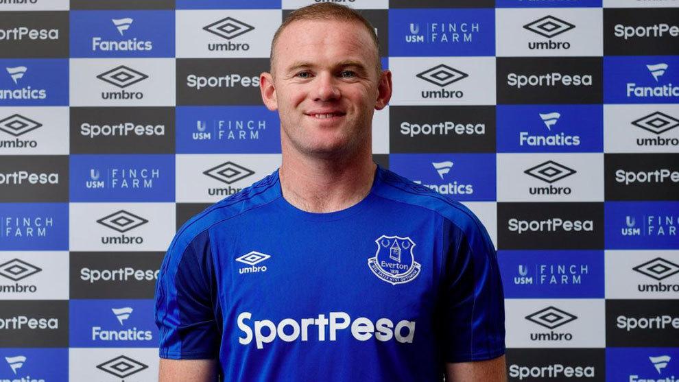 Wayne Rooney jugará en el Everton