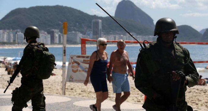 Brasil despliega su Ejército en Río de Janeiro