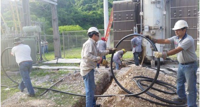 ANDE ultima trabajos de cableados subterráneos en Asunción