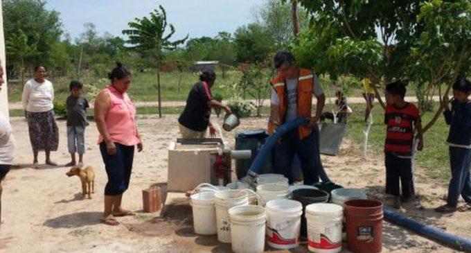 """Realizan """"cosechas de agua"""" para proveer a comunidades indígenas del Chaco"""