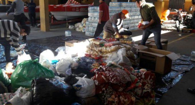 Continúan ayudas a familias afectadas por las inundaciones en el sur