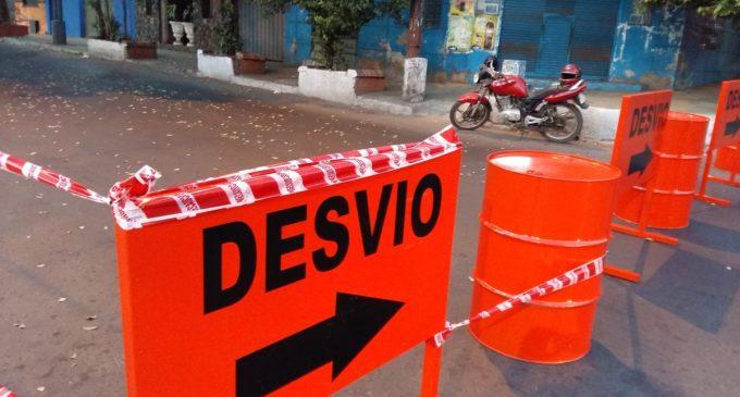 PMT informa sobre desvíos por obras en zona del Mercado 4