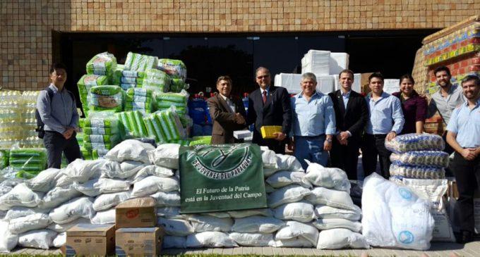 UIP Joven entregó donativos a damnificados del sur