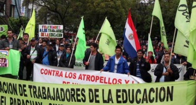 MEC trata de destrabar huelga docente anunciada para el viernes