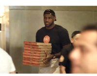 Las pizzerías de LeBron James son un total éxito en Estados Unidos