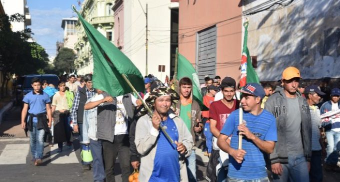 Policía Nacional cuestiona que campesinos no cumplan acuerdo sobre itinerario de marcha