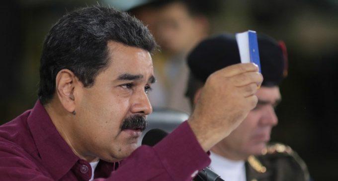 Estados Unidos impuso sanciones financieras personales a Nicolás Maduro por la Asamblea Constituyente