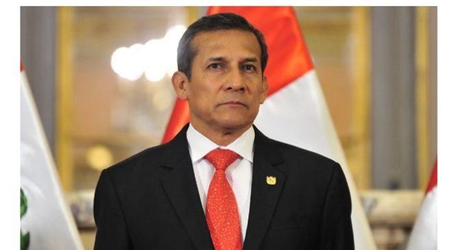 Dictan prisión preventiva contra el expresidente de Perú Ollanta Humala