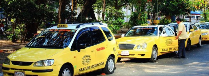 Taxistas se ven afectados con manifestaciones campesinas