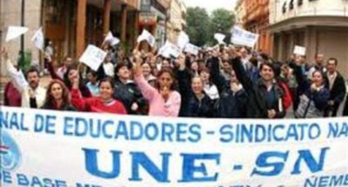 No avanzaron negociaciones con MEC y docentes preparan huelga