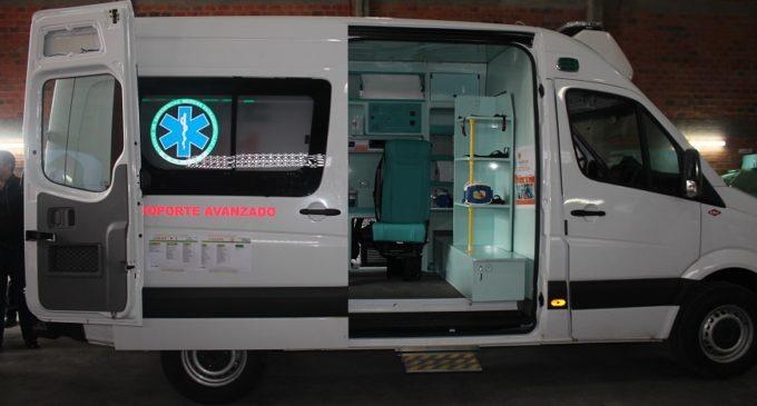 Salud anuncia llegada de ambulancias con terapia intensiva