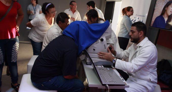 Realizarán estudios oftalmológicos gratuitos en stand de Itaipu