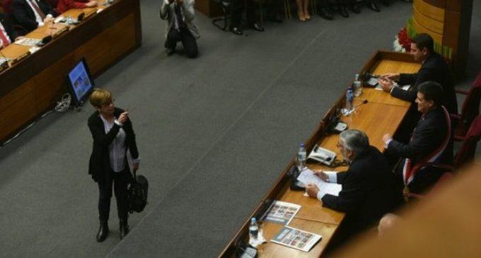 """Desirée Masi: """"El discurso el presidente lo puede hacer en el Palacio"""""""