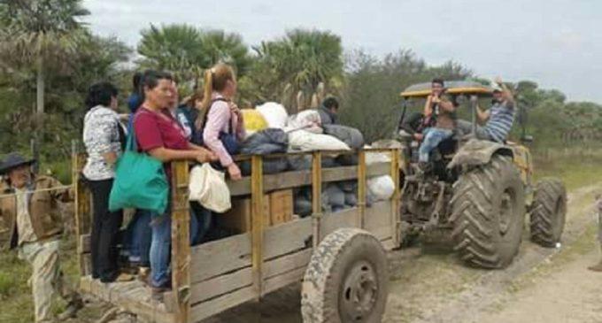 Llegan con asistencia a sitios críticos del Bajo Chaco