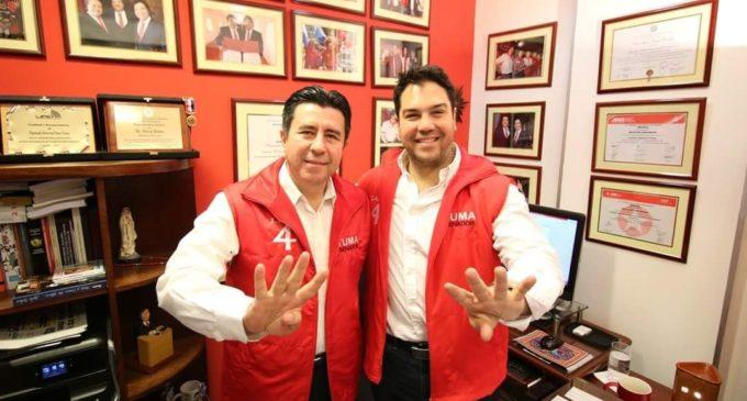 Darío González fue presentado como candidato a diputado por el movimiento de Óscar Tuma